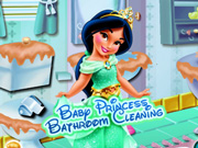 Baby Princess Bathroom Cleaning