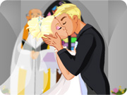 Bride's Kiss of Love