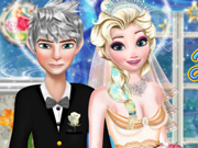 Jack and Elsa Perfect Wedding Pose