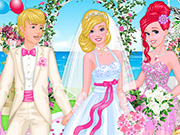 Princess at Barbie's Wedding