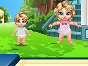 Twins Baby Trampoline