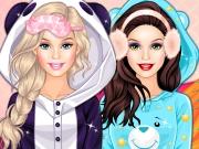 Barbie Winter Pj Party